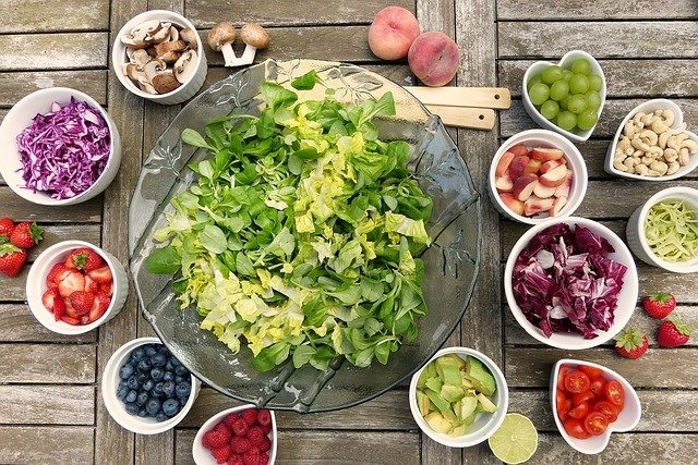 Healthy lifestyle and healthy diet