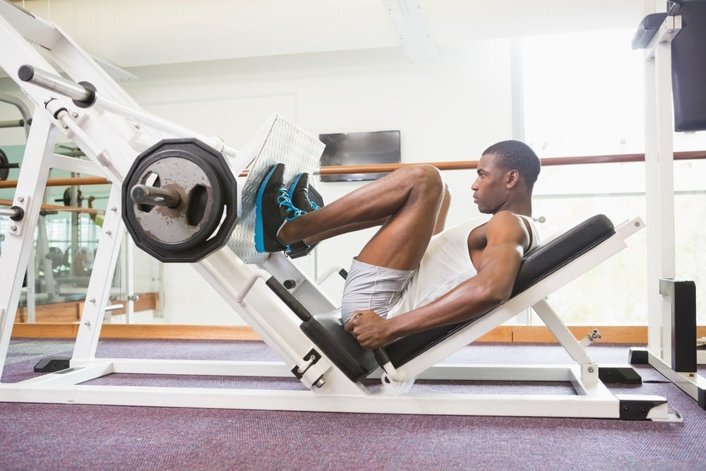 How much should I be able to Leg Press 2020