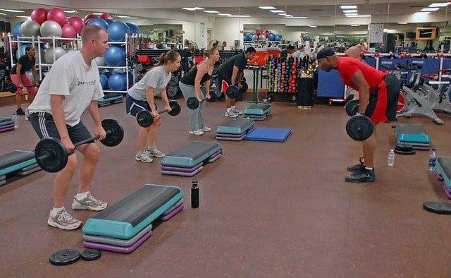 Gym weight lift trainer