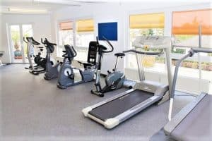 Stationary Bike, Treadmill for your belly fat