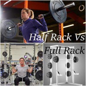 Differences between half rack & full rack